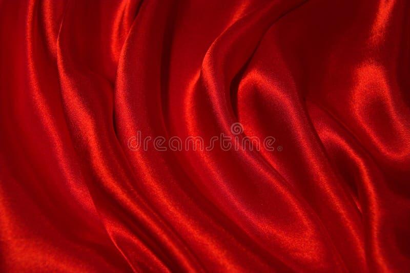 röd satäng arkivbild