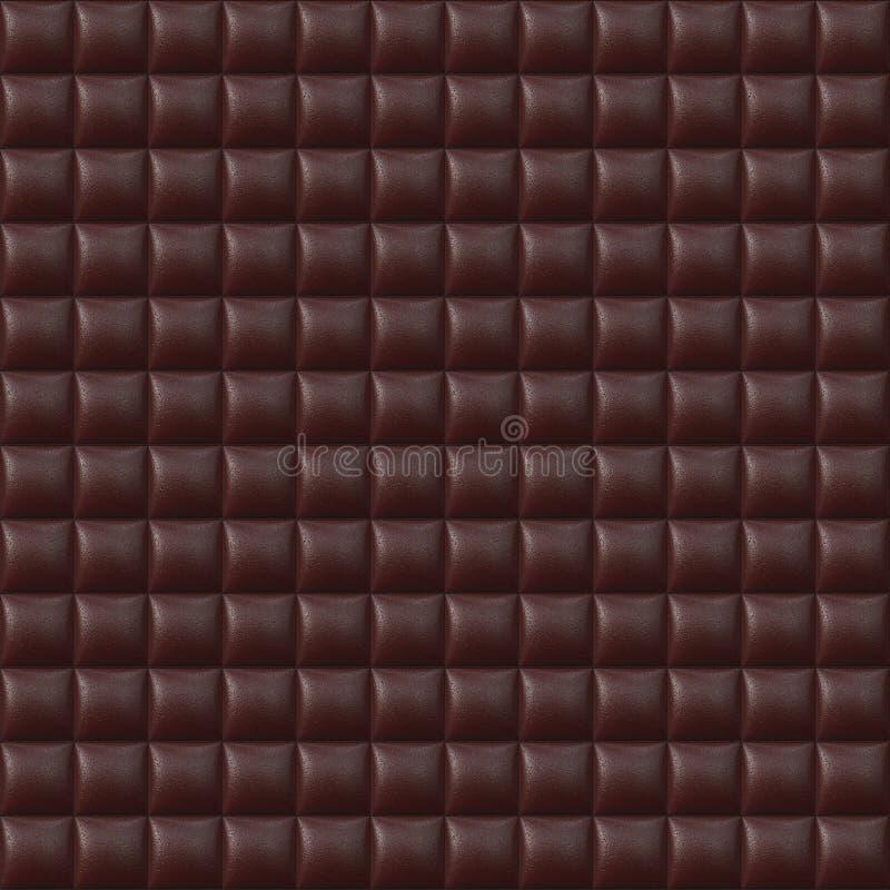 röd seamless upholstery för lädermodell fotografering för bildbyråer