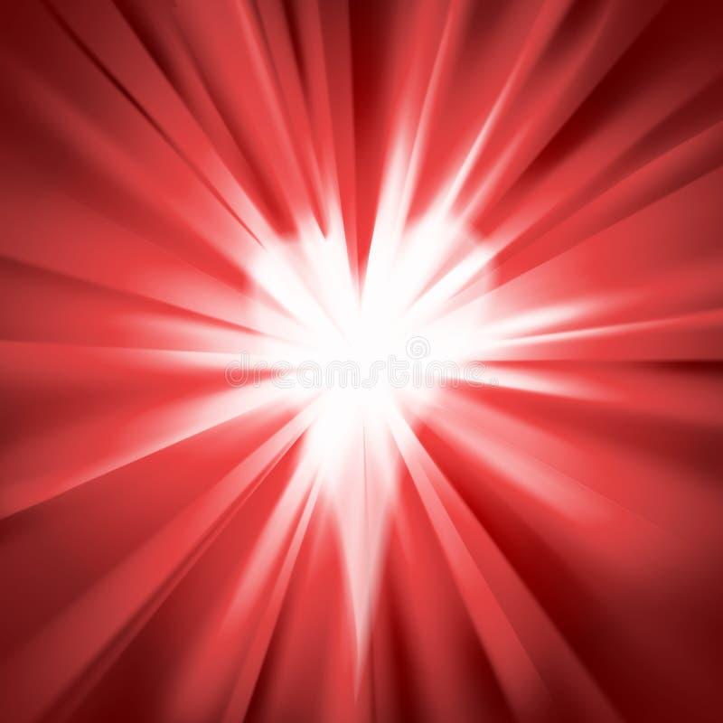 Röd signalljus med en hjärta vektor illustrationer