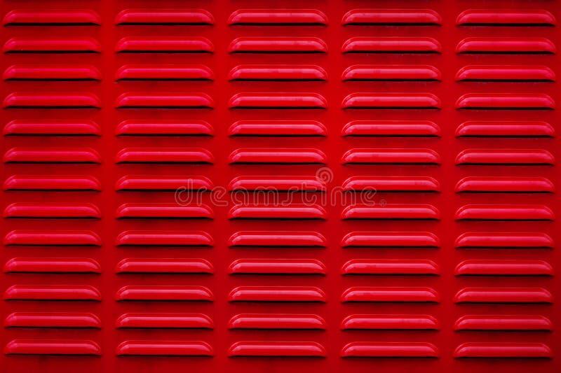 Röd skyddsgallertextur abstrakt ingrepp arkivfoton