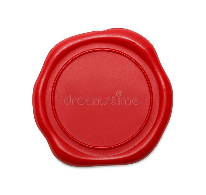 röd skyddsremsawax royaltyfria foton