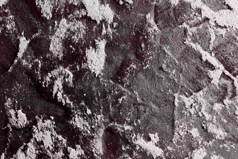 Röd smutsig designstuckatur på brädetexturen - gullig abstrakt fotobakgrund arkivbilder