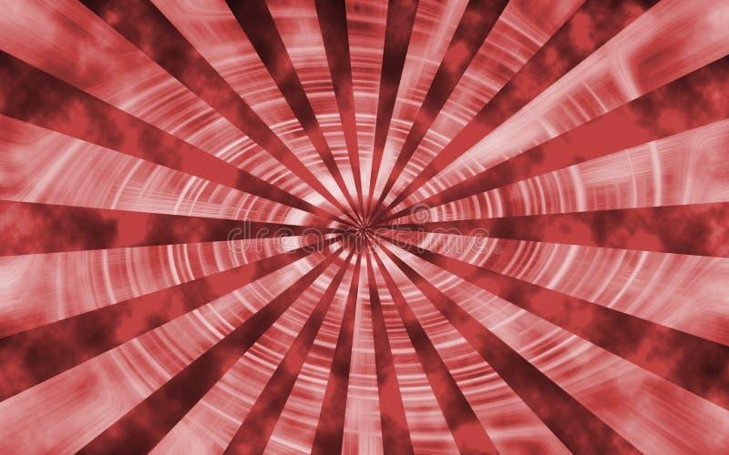 Röd snurrvirveltapet arkivfoto