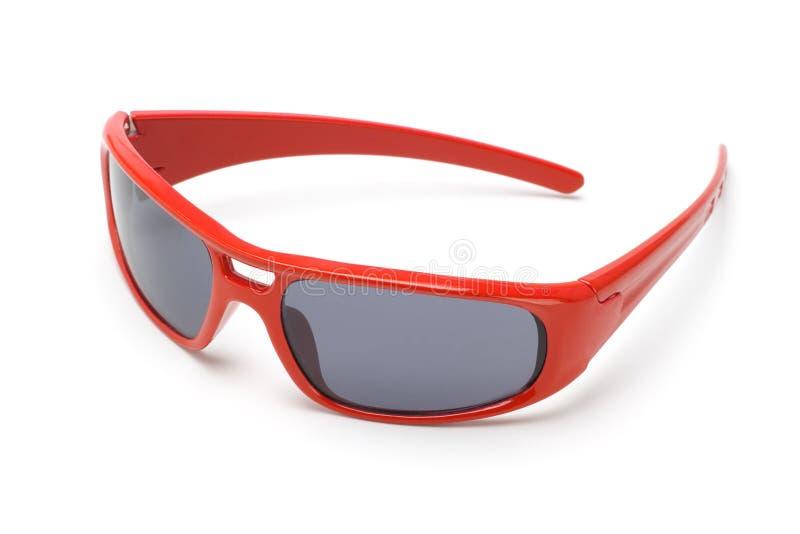 röd solglasögontoy royaltyfri foto