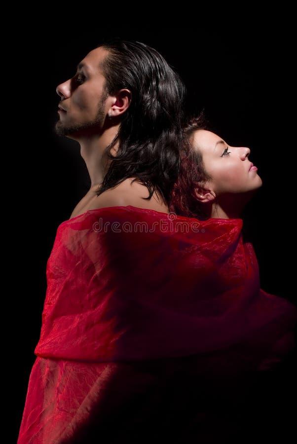 röd soul fotografering för bildbyråer