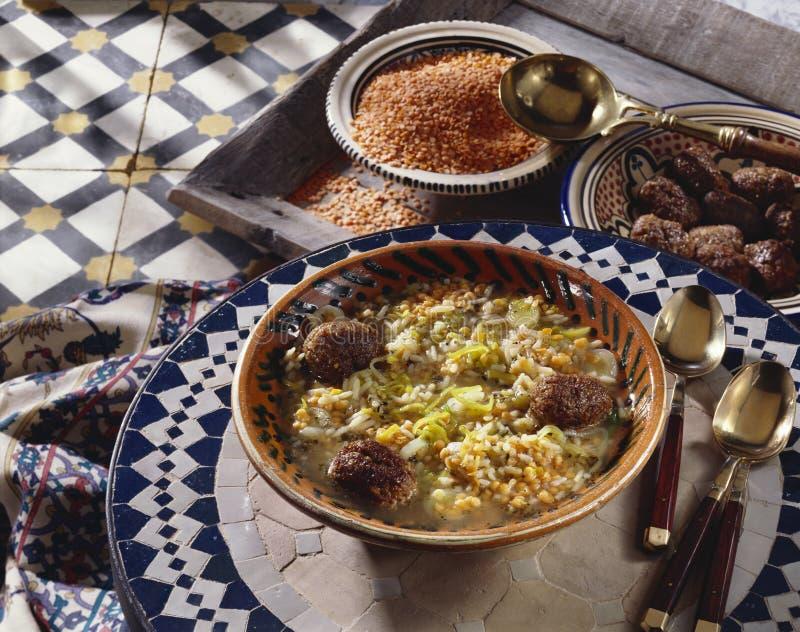 röd stew för lin royaltyfri foto