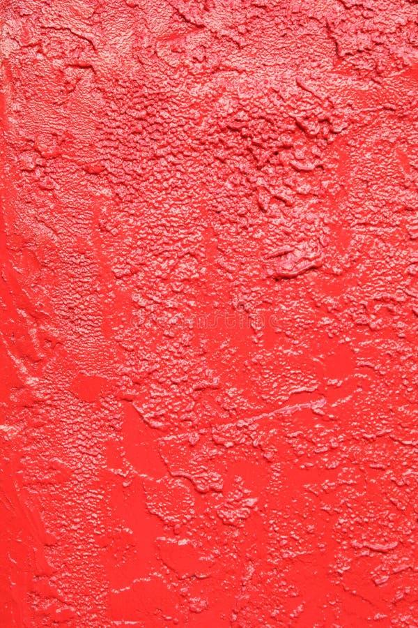röd stuckatur royaltyfria foton