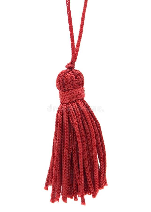 röd tassel royaltyfria foton