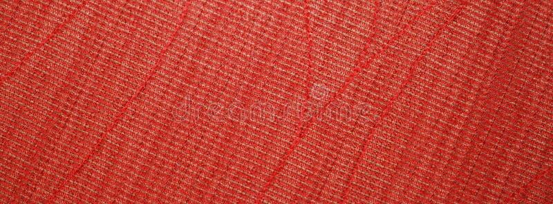 röd textiltextur arkivfoton