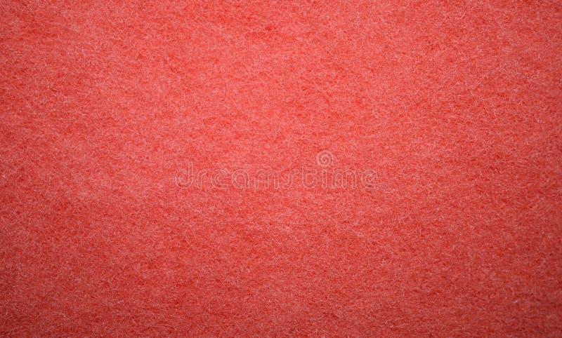 Röd textur från skumsvampyttersidan royaltyfria foton