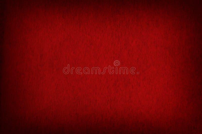 Röd textur Vignetted royaltyfri bild