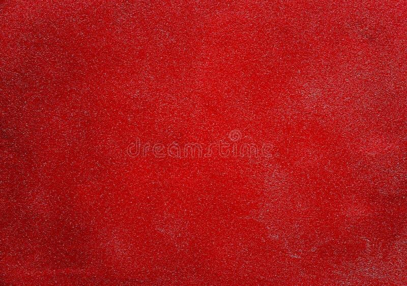 Röd texturerad bakgrundstapet för design royaltyfri fotografi
