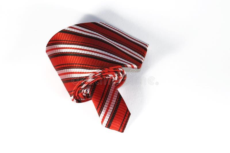 röd tie royaltyfri bild