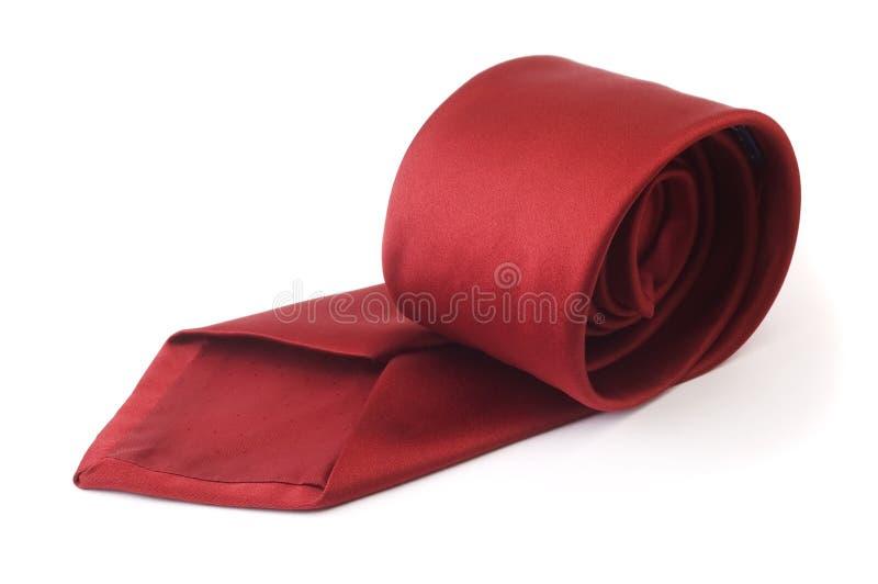 röd tie för affär royaltyfria foton
