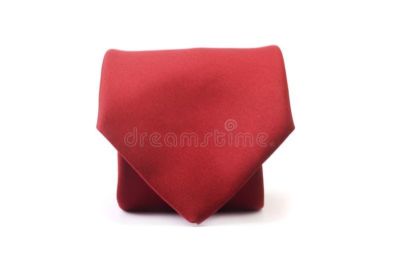 röd tie för affär arkivfoto