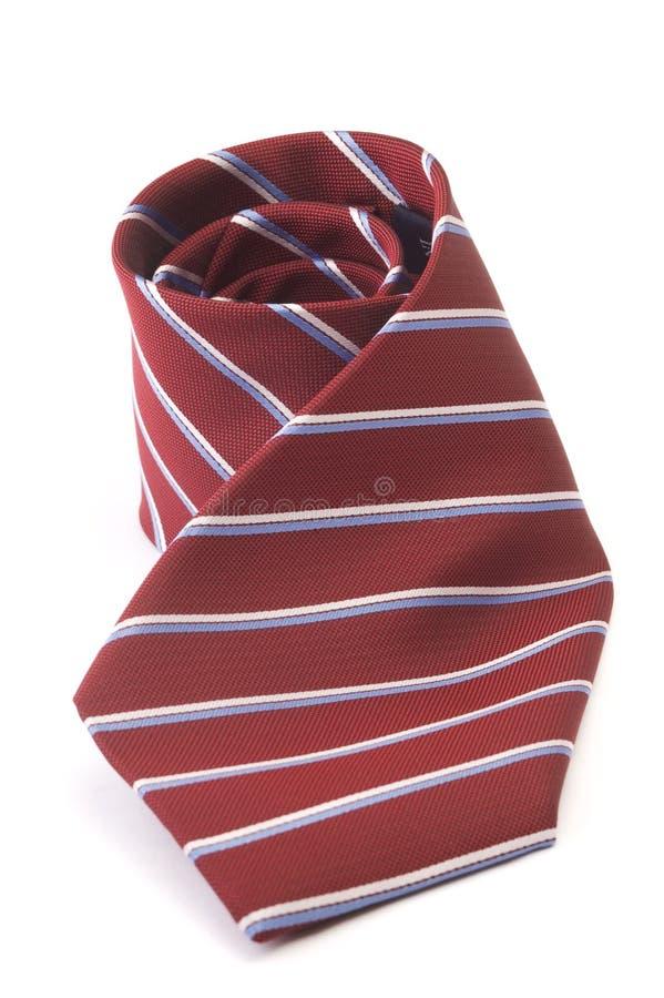 röd tie för affär arkivfoton