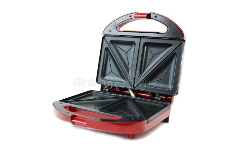 röd toaster arkivbilder