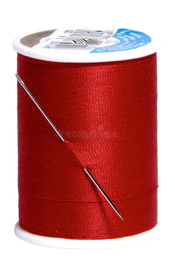 röd tråd royaltyfria foton