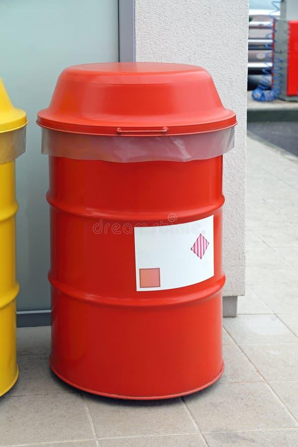 Röd trumma arkivbilder