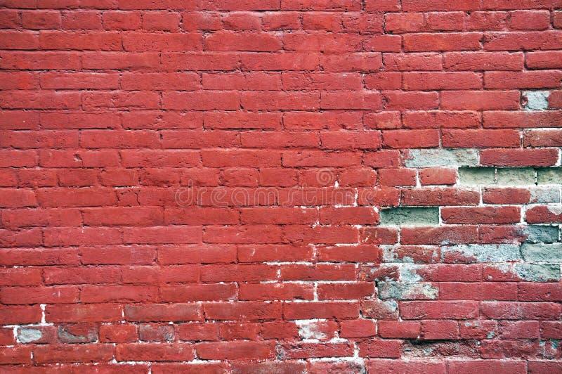 röd vägg royaltyfria bilder