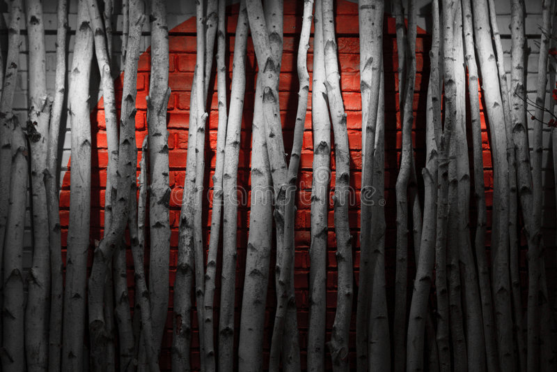 röd vägg royaltyfri bild