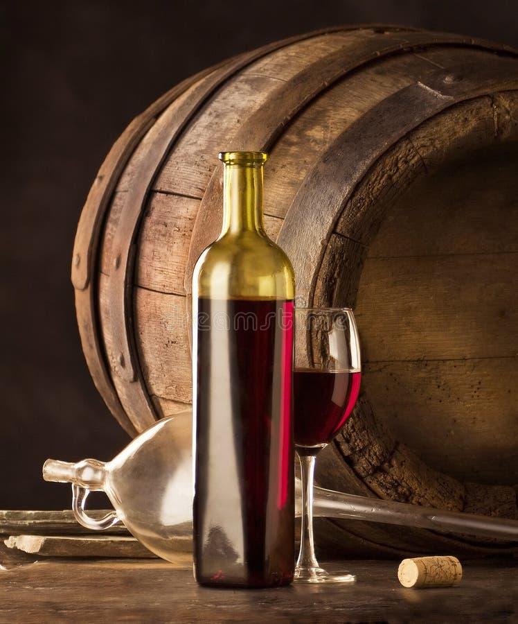 röd vine royaltyfri foto