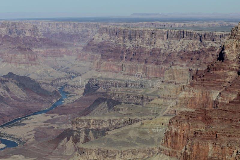 Röda Grand Canyon vaggar fotografering för bildbyråer