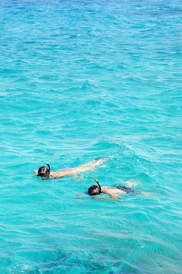 Röda havet golf av Eilat royaltyfri fotografi