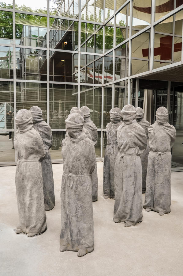 Röda korsetmuseum, Genève royaltyfri bild