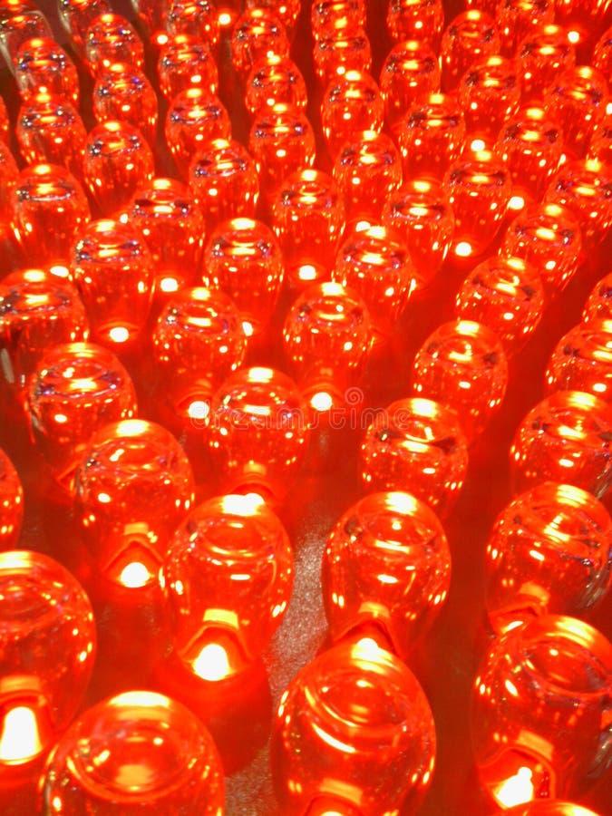 röda kulor royaltyfri foto