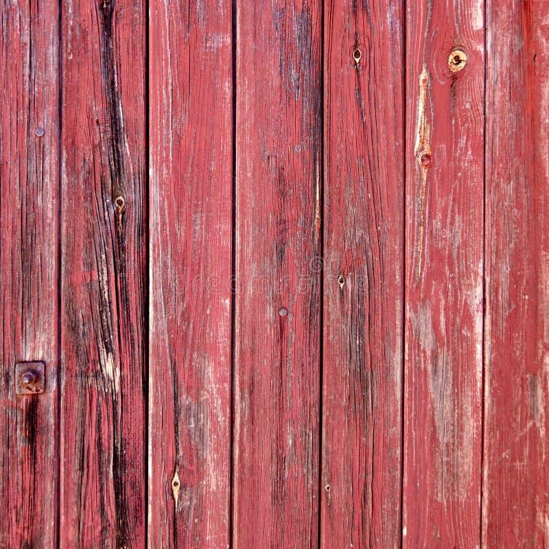 Röda målade red ut träband royaltyfri foto
