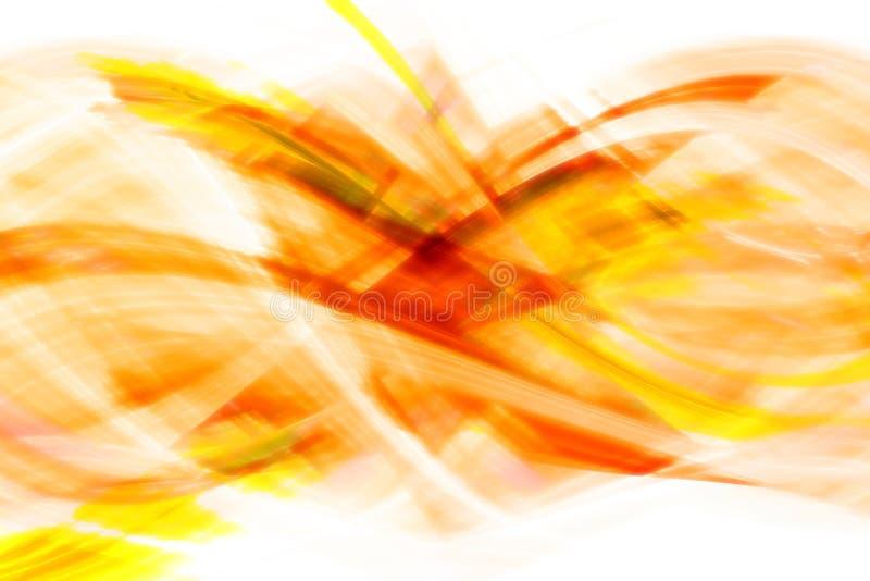rödaktig signalyellow för abstrakt bakgrund royaltyfri illustrationer