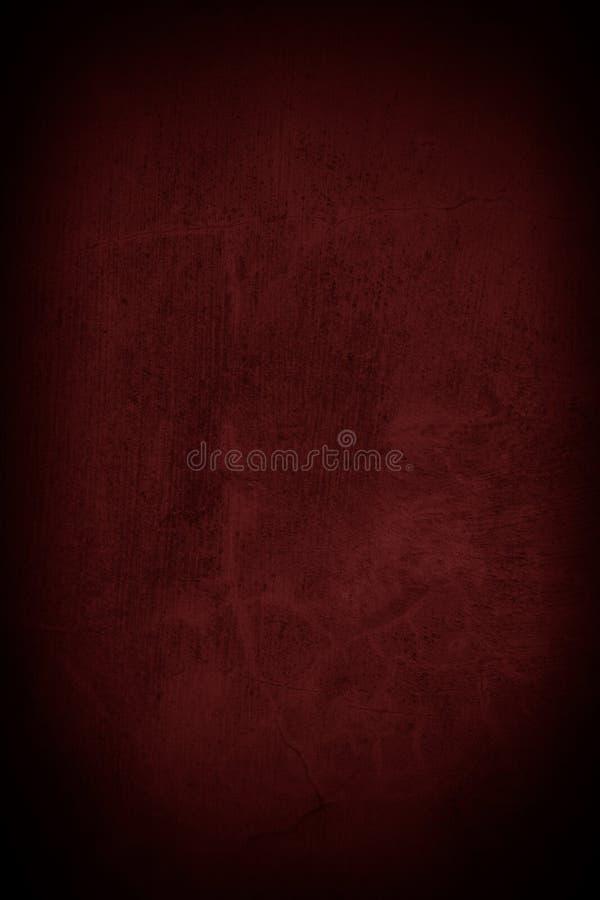 Rödbrun väggbakgrund för mörker arkivbild