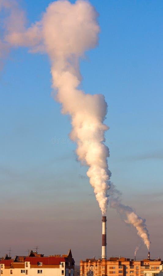 Rök för blå sky