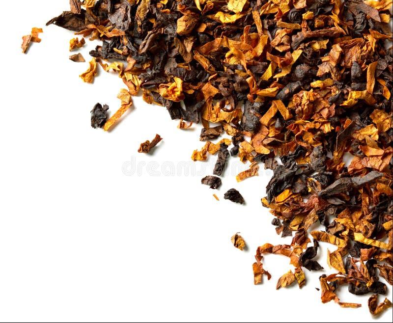 Rökande tobak royaltyfria foton