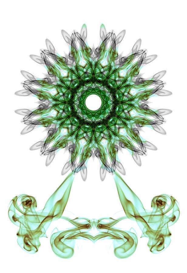 Rökhjul royaltyfri illustrationer