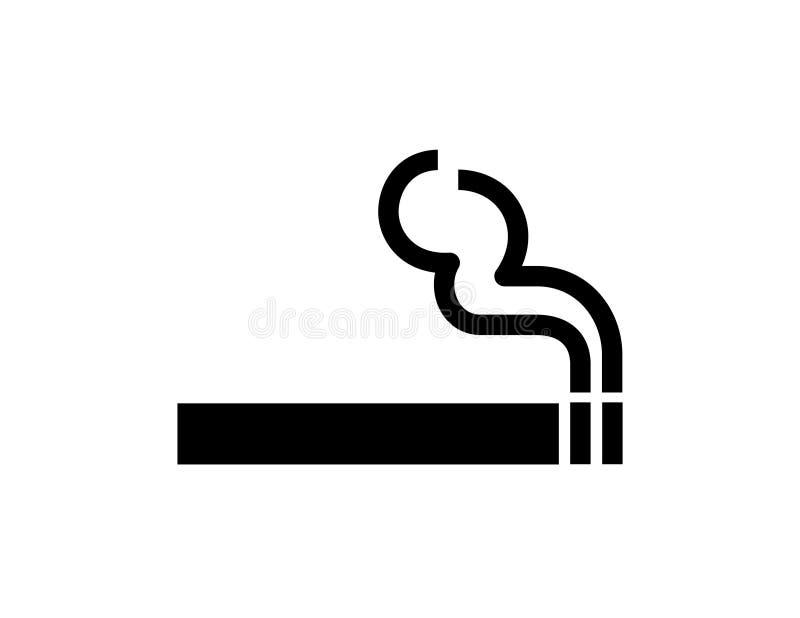 rökning stock illustrationer