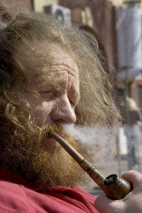 Rökning Royaltyfria Foton