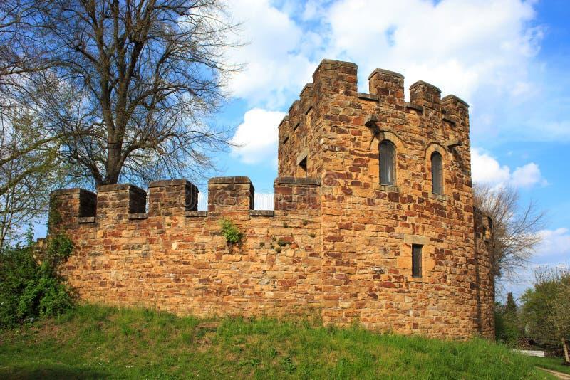 Römerkastell Köngen. Ruin of a roman castle in a open air museum stock images