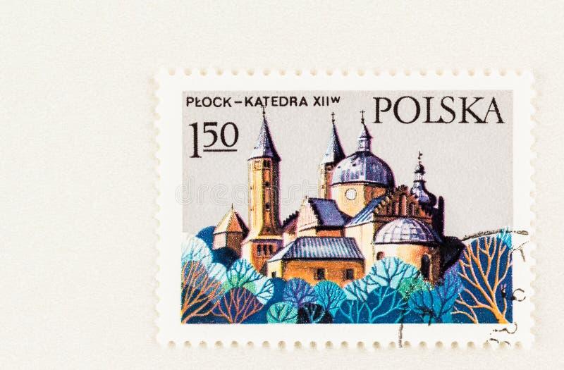 Römisch-katholische Kathedrale Plock Polen lizenzfreie stockfotografie