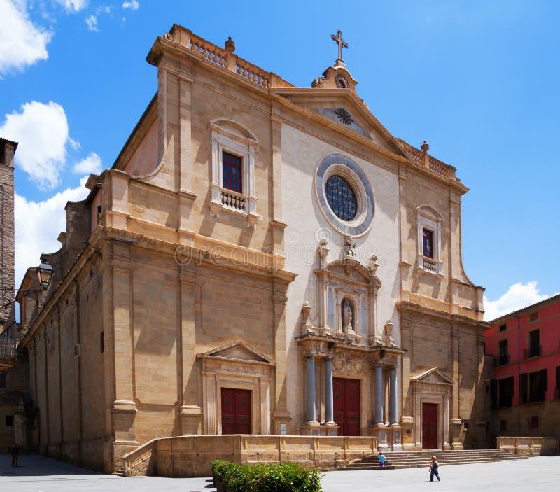 Römisch-katholische Kathedrale in Vic stockfotos