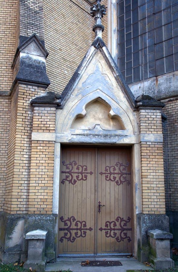 Römisch-katholische Kirche, Backa Topola, Serbien lizenzfreies stockfoto