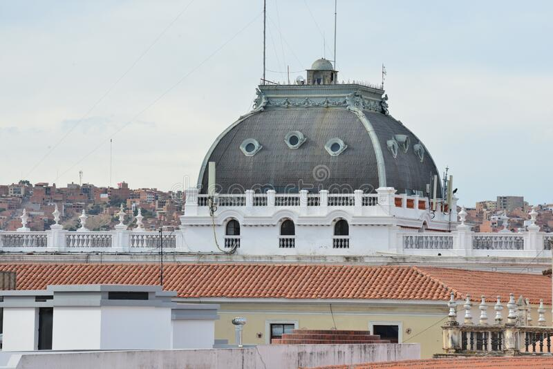 Römisch-katholische Kirche in Bolivien, die Metropolitan Kathedrale Sucre stockfotos
