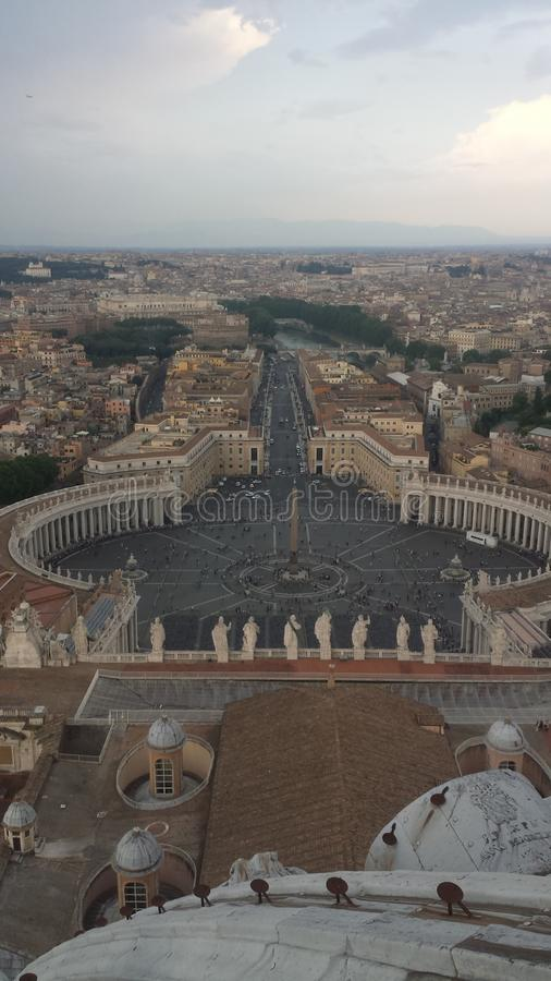 Römische Ansicht lizenzfreies stockbild
