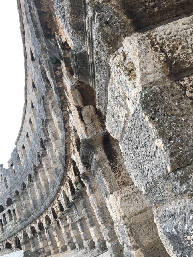 Römische Arena 2 lizenzfreie stockfotos