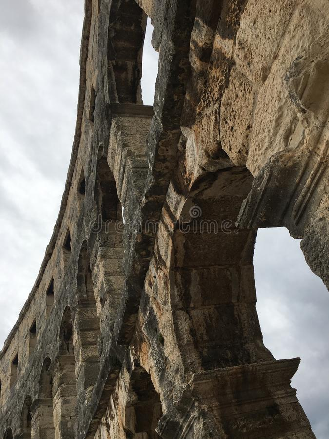 Römische Arena 4 stockbilder