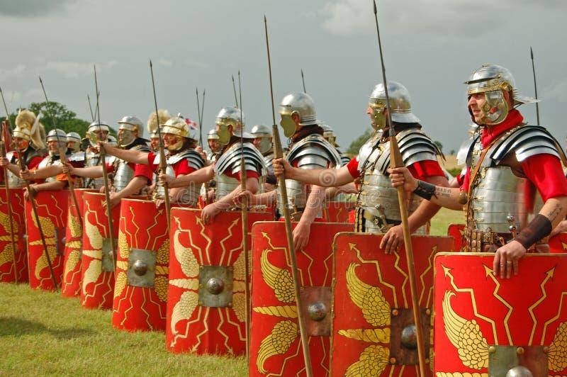 Römische Armee stockbilder
