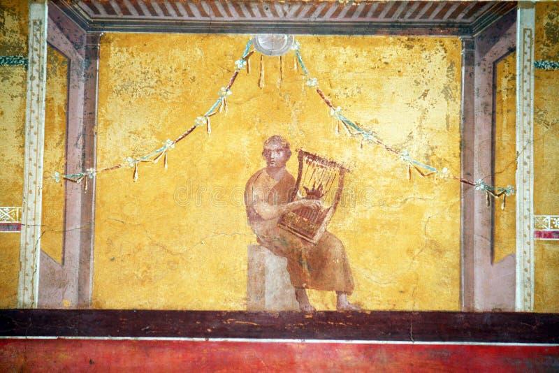 Römische Harfe lizenzfreies stockbild
