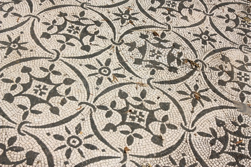 Römische Mosaiken in Italien lizenzfreie stockfotos