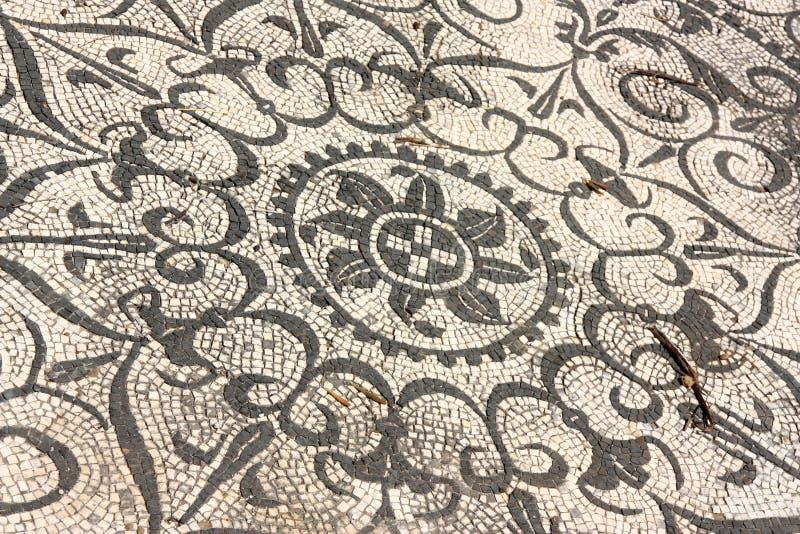 Römische Mosaiken, Italien stockfotos